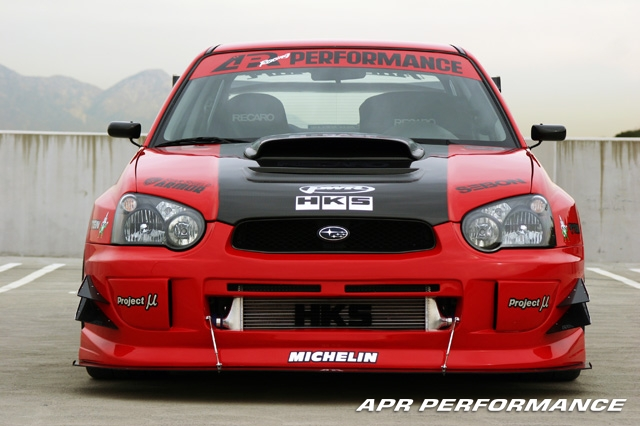 APR SS/GT Impreza WRX STI Version A Wide Body Kit