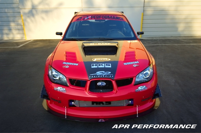 APR SS/GT Impreza WRX STI Version B Wide Body Kit
