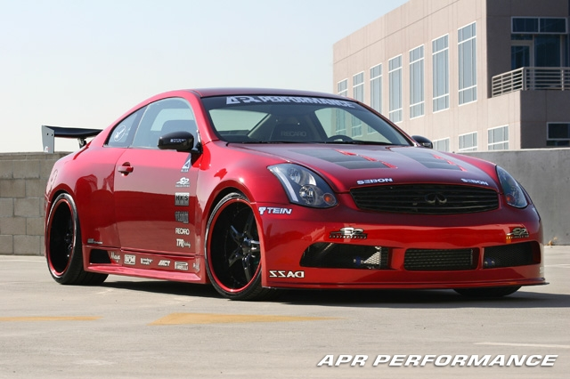 apr gtr35 infiniti g35 coupe apr performance. Black Bedroom Furniture Sets. Home Design Ideas