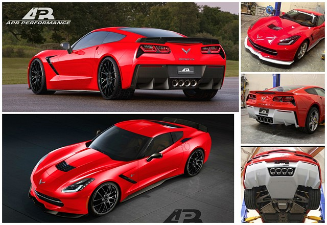 Chevrolet Corvette C7 Stingray Z51 Aero Package | APR Performance