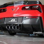 Carbon Fiber Rear Diffuser with Under Tray