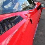 Carbon Fiber Quarter Panel Intake Ducts