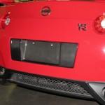 2008-11 GTR License Plate Backing