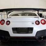 2012-16 GTR License Plate Backing