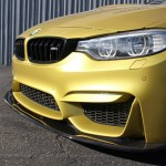 Carbon Fiber Front Splitter / Air Dam 2014 BMW F80/F82  M3/M4