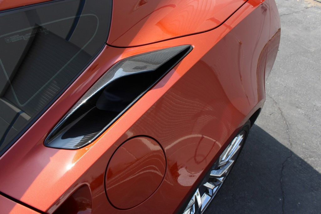 C7 Corvette Rear Vents