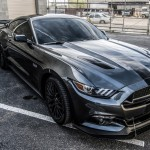 2015 Mustang Front Wind Splitter with Performance Package and GTC-DRAG