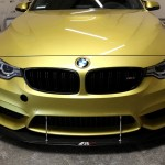 Front Wind Splitter M3 with Stock Bumper