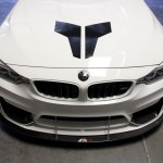 Front Wind Splitter M4 with Performance Lip