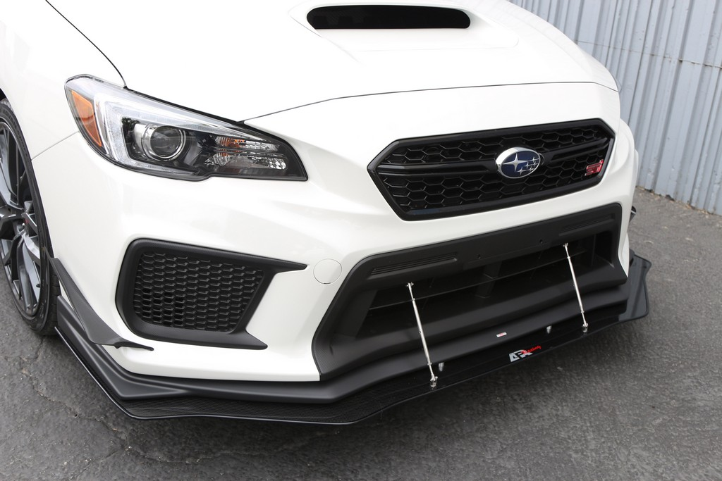2018 Up Wrx Sti Front Splitter With Factory Lip