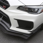 2018-Up WRX/STI Front Splitter with Factory Lip and Front Bumper Canards