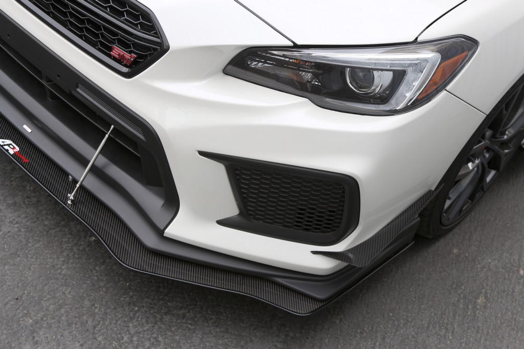 2018 Up Wrx Sti Front Splitter With Factory Lip And Per Canards