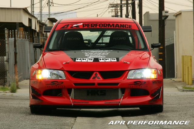 APR EVIL-R Mitsubishi Evo 8 Wide Body Kit