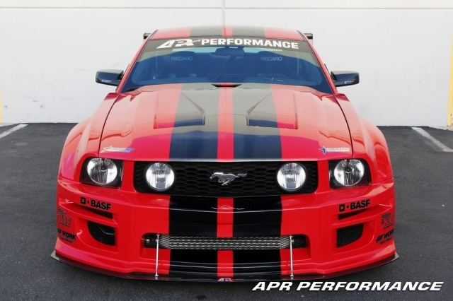 APR GT-R Ford Mustang S197 Wide Body Kit