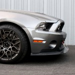 2013-2014 Shelby GT-500 Front Wind splitter with Rods