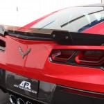 Carbon Fiber Rear Spoiler Version 2