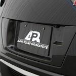 2017-Up GTR License Plate Backing