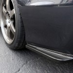 Carbon fiber Rear Bumper Skirt