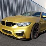 Carbon Fiber Front Splitter / Air Dam 2014 BMW F80/F82  M3/M4