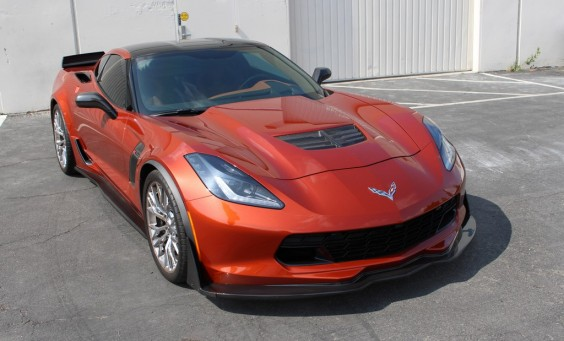 C7 Z06 Front Air Dam / Splitter Track Pack