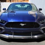 2018 Mustang with Performance Package Splitter and Canards