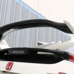 Carbon Fiber Gurney Flap for Factory Spoiler