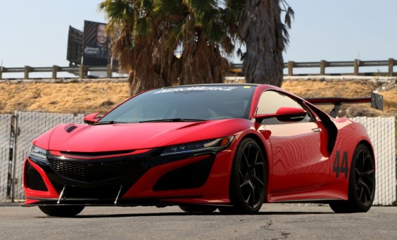 "Acura NSX with 71"" GTC-500 and Front Wing Splitter"